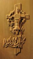 Image Carved Liturgical Panel 1
