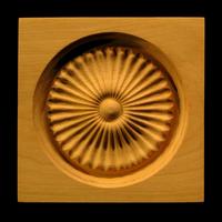Image Corner Block - Radial Flutes