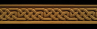 Image Frieze Moulding - Gaelic Weave