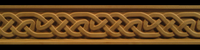Image Frieze Moulding - Gaelic Weave