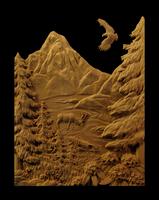 Image Northwest Mountain Panel - Marathon Coach
