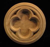 Image Medallion - Gothic Quatrefoil