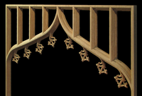 Image Gothic Floret Panel