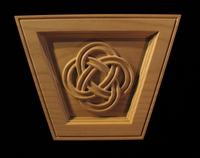 Image Keystone - Eternal Knot (non arched)