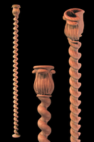 Image Barley Twist Acanthus Top Corner Post