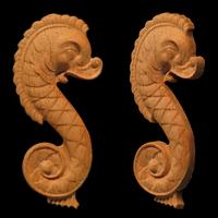 Image Seahorse Onlay