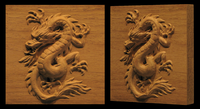 Image Dragon Plaque