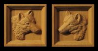 Image Wolf Corner Block