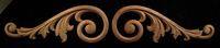 Image Onlay - Volutes #3 - Left & Right Facing Pairs