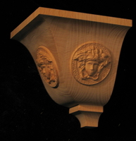 Image Crown Corner Drop w Medusa
