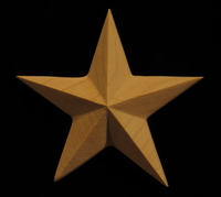 Image Onlay - Americana Star