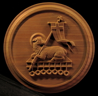 Image Agnus Dei Medallion - 13