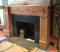 Image Custom Mantel - Swags and Drops