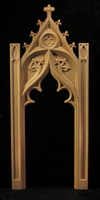 Image Gothic Spire Panel and Pilaster Set