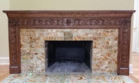 Image Custom Swag Mantel
