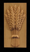Image Plaque - Harvest Wheat