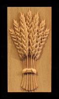 Image Plaque - Harvest Wheat