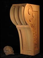 Image Profile Range Hood Corbel
