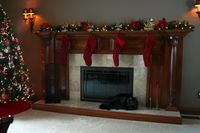 Image Fireplace Mantel Columns