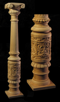 Image Custom Newel Post