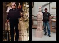 Image Johnny Cash Newel Post