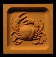 Image Corner Block - Crab