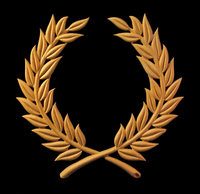 Image Onlay - Laurel Wreath