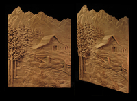 Image Tetons and Barn Carving