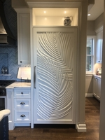 Image Palm Leaf Fridge Door Panels