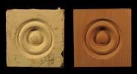 Image Bullseye Rosette and Corner Block Reproduction #2