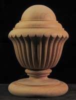 Image Finial - Reeded