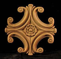 Image CLEARANCE - Medallion - Classic Volutes with Classic Flower - 21