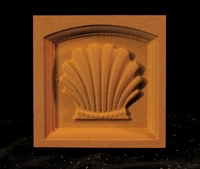 Image CLEARANCE - 12PC - Corner Block - Classic Shell - 3.75