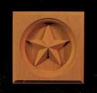 Image CLEARANCE - (8PC) - Custom Star Corner Block - 4