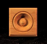Image CLEARANCE - Bullseye Corner Block - 3.5 - Fir - (2pc)