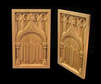 Image Gothic Church Panel