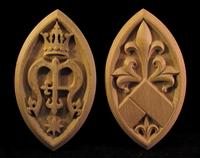 Image Medallions for St Thomas Aquinas Shrine