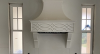 Image Range Hood - Double Arches and Points