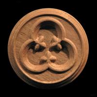 Image Rosette -Gothic Trefoil
