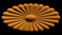 Image Onlay  - Sun Daisy - Oval