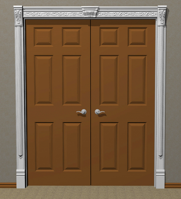 Carved Door Trim 15