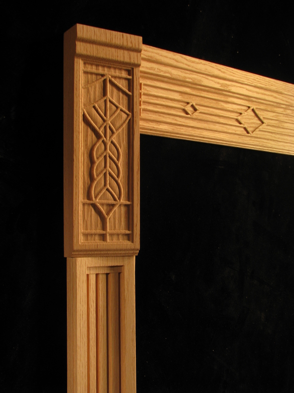 Carved Door Trim #18