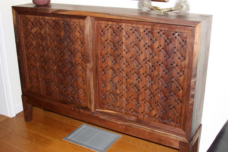 Woven Cabinet doors