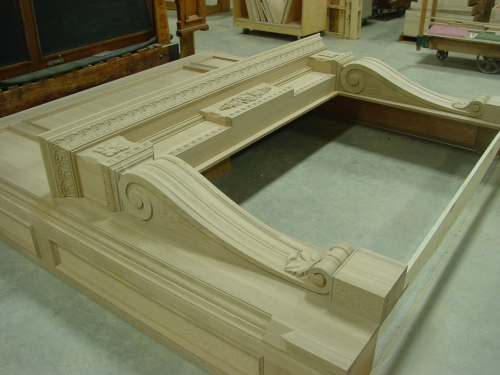How to Dress up a Fireplace with Architectural Carvings
