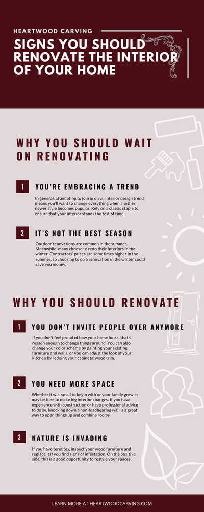 Renovate the Interior of Your Home