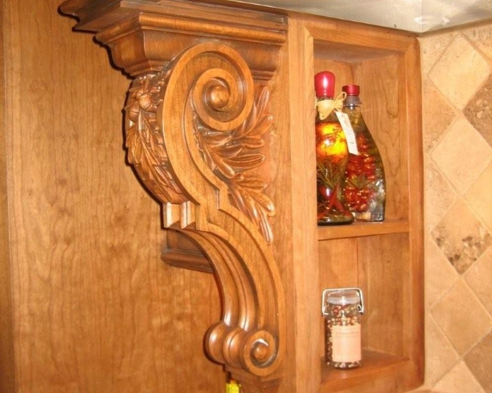 How to Choose the Right Wooden Corbels or Brackets<br />